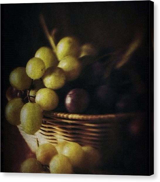 Grapes Canvas Print - Grapes by Ale Romiti 🇮🇹📷👣