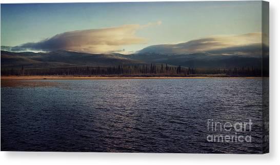 Northwest Territories Canvas Print - Gravel Lake by Priska Wettstein
