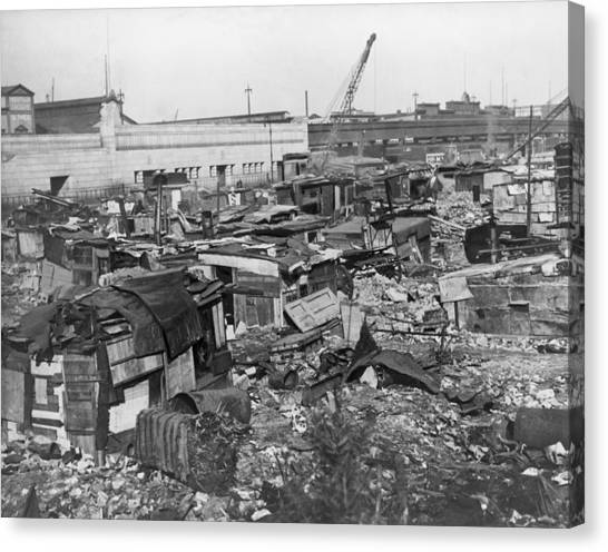 Great Depression Hooverville In Lower Photograph By Everett
