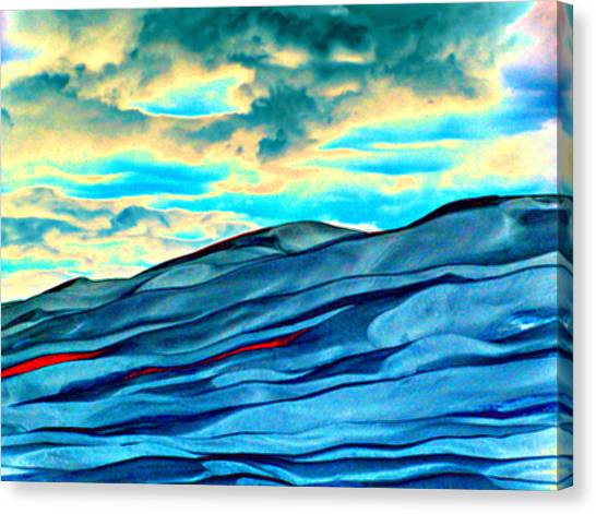 Great Sand Dunes Canvas Print by Daniel Dodd