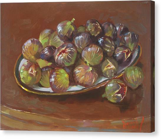 Greek Canvas Print - Greek Figs by Ylli Haruni