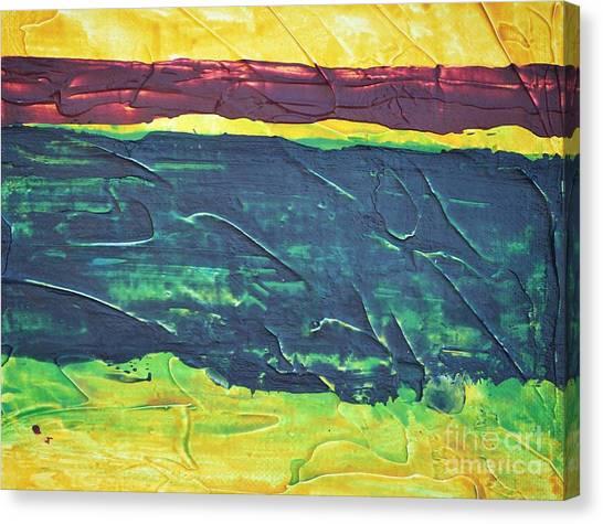 Green Canyon Canvas Print