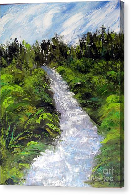 Green Spaces Canvas Print
