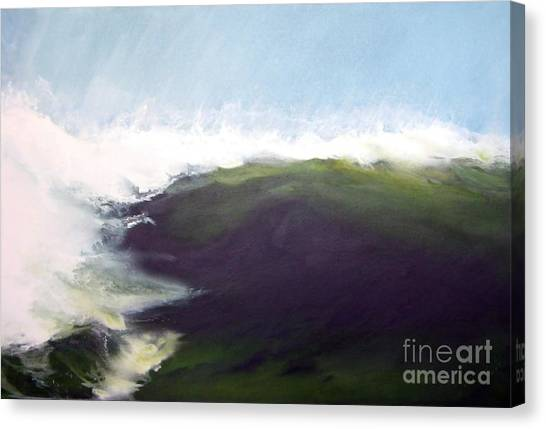 Green Wall Canvas Print