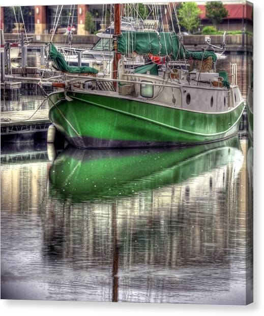 Green With Envy Canvas Print by Brian Fisher