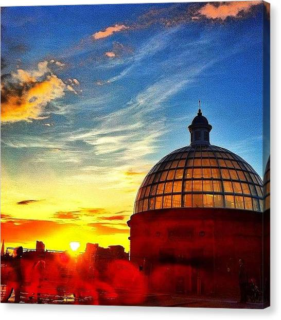 Rivers Canvas Print - Greenwich In Summer by Samuel Gunnell