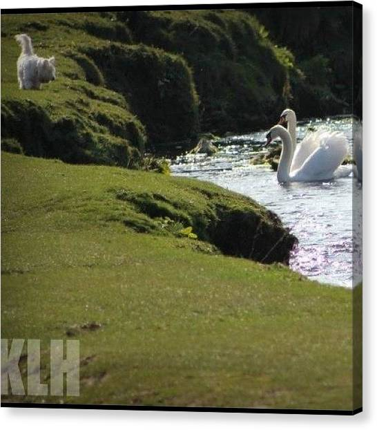 United Kingdom Canvas Print - Greeting by KLH Streets Photography