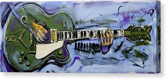 Gretsch Guitar Canvas Print