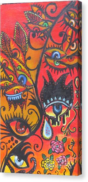 Growing Internal Vision Canvas Print