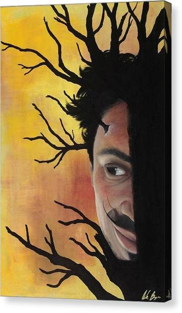 Growth Of A Man Canvas Print by Nicole Williams