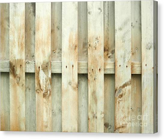 Gates Canvas Print - Grungy Old Fence Background by Blink Images