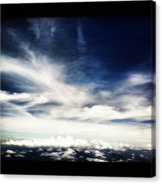 Volcanoes Canvas Print - Guatemala #avgeek #airporn #airplane by Artistic Shutter