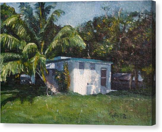 Guest House In Aguada Canvas Print by Victor SOTO
