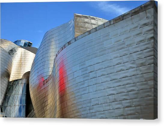 Guggenheim Museum Bilbao - 3 Canvas Print