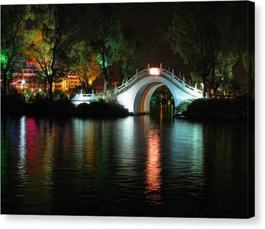 Guilin Bridge Canvas Print