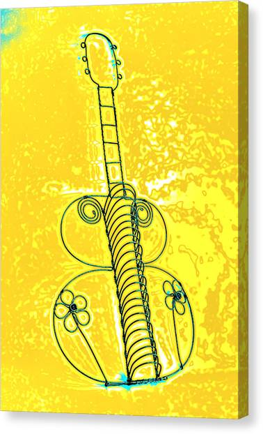 Guitar 2c Canvas Print
