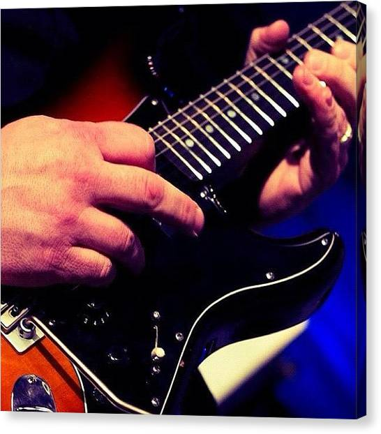 Stratocasters Canvas Print - Guitar #guitar #fender #strat by Craig Kempf