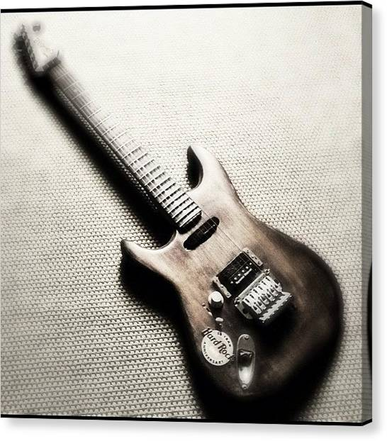 Guitars Canvas Print - #guitar #guitars #me #beautiful #axe by Max Guzzo