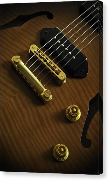 Guitar Canvas Print by Mauricio Jimenez
