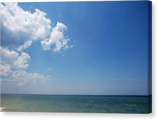 Gulf Sky Canvas Print