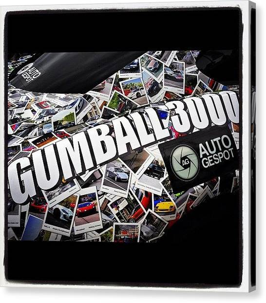 Ferrari Canvas Print - #gumball3000 #gumball #goldrush by 🅿💀r1⃣©⚠◀ Qu1⃣5⃣p3⃣l