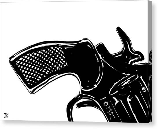 Gun Number 2 Canvas Print by Giuseppe Cristiano
