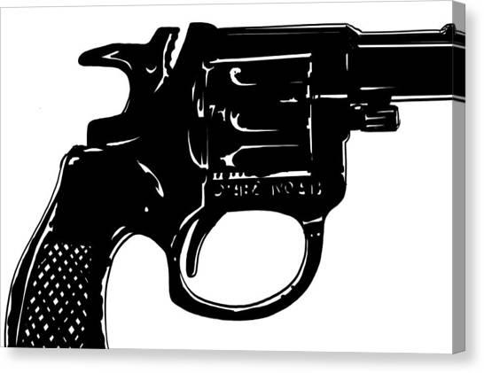 Guns Canvas Print - Gun Number 3 by Giuseppe Cristiano