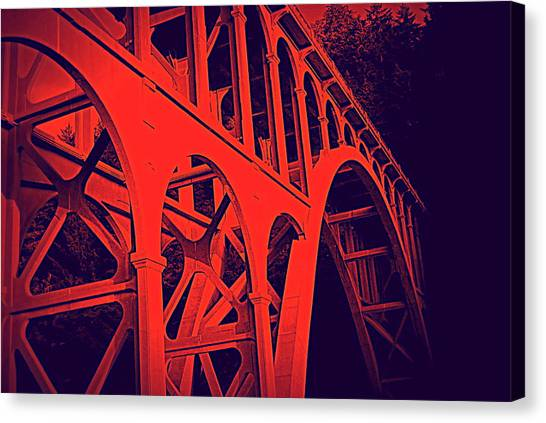 Haceta Head Bridge Canvas Print