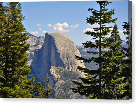 Half Dome Canvas Print by Camille Lyver