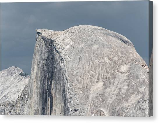 Half Dome From Glacier Point At Yosemite Np Canvas Print