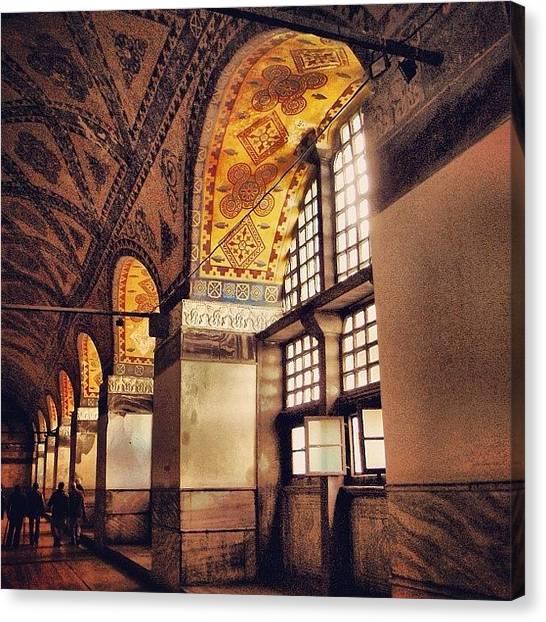 Turkish Canvas Print - #hallway Near The #entrance To The by Michelle Behnken