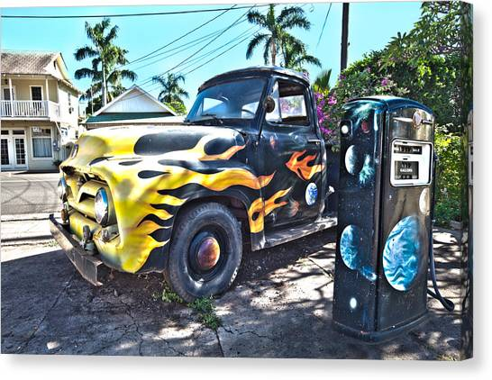 Hanapepe Truck Canvas Print