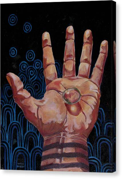 Hand Made Inspiration Canvas Print