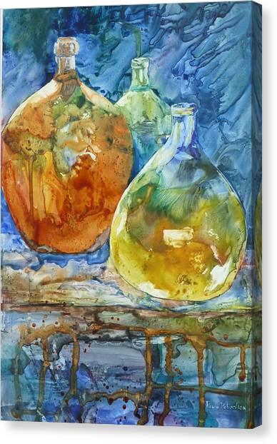 Handblown Canvas Print