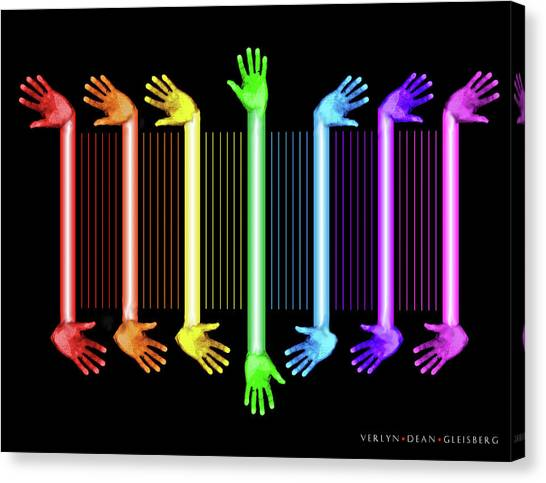 Hands Of The Artist Canvas Print