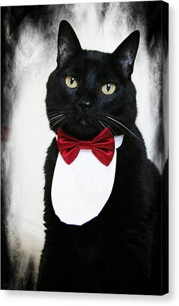 In Memory Of Miles D Canvas Print by Carrie OBrien Sibley