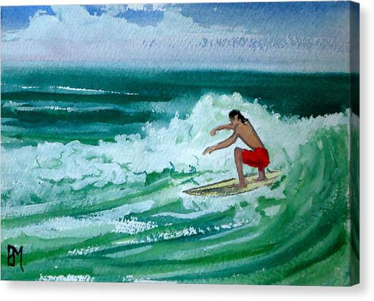 Hang Loose Canvas Print by Pete Maier