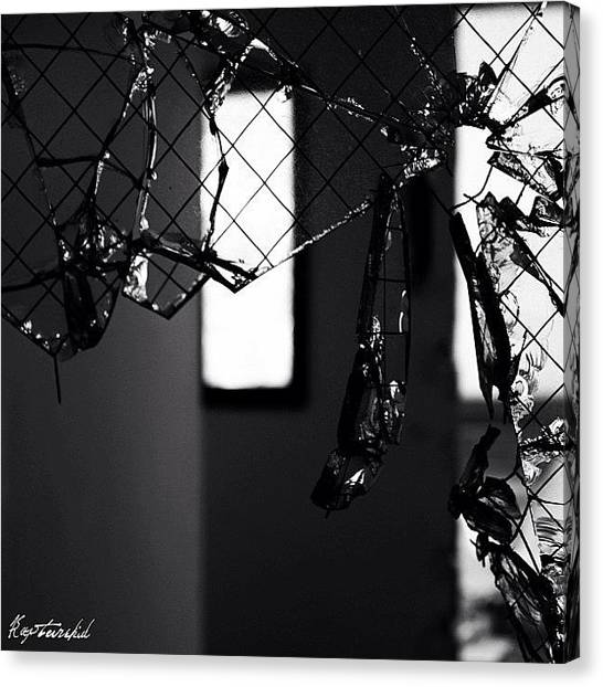 Michigan Canvas Print - Hanging By Thread #windowshotwednesday by Anthony  Bates