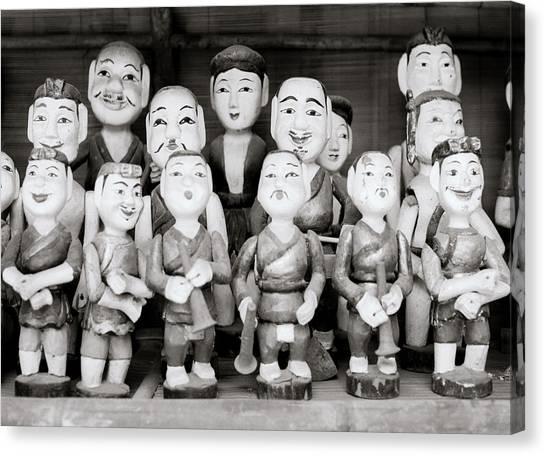 Hanoi Water Puppets Canvas Print