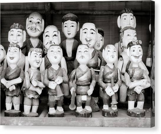 Hanoi Water Puppets Canvas Print