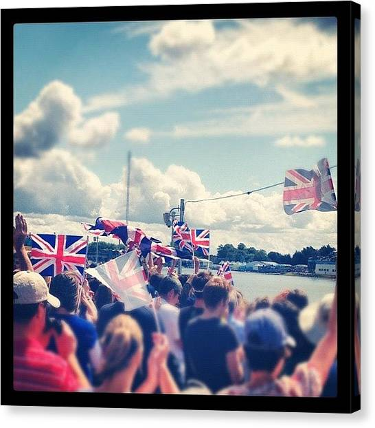 United Kingdom Canvas Print - Happy And Glorious by Rillaith