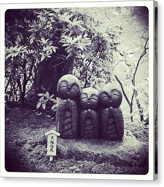Temples Canvas Print - Happy Buddha by Marc Gascoigne