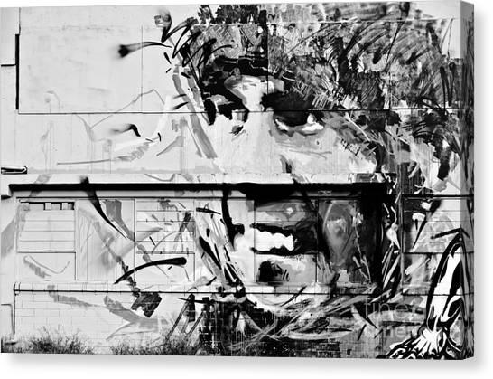 Happy Graffiti Smile Canvas Print