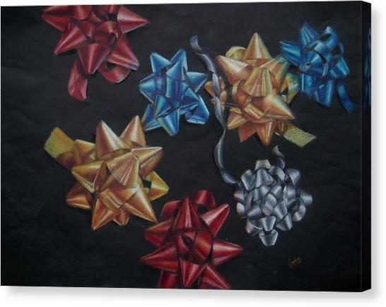 Happy Holidays Canvas Print by Joanna Gates