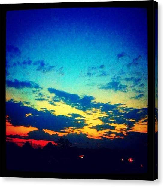 Arkansas Canvas Print - happy Monday Ig Friends #ig #igers by Roger Snook