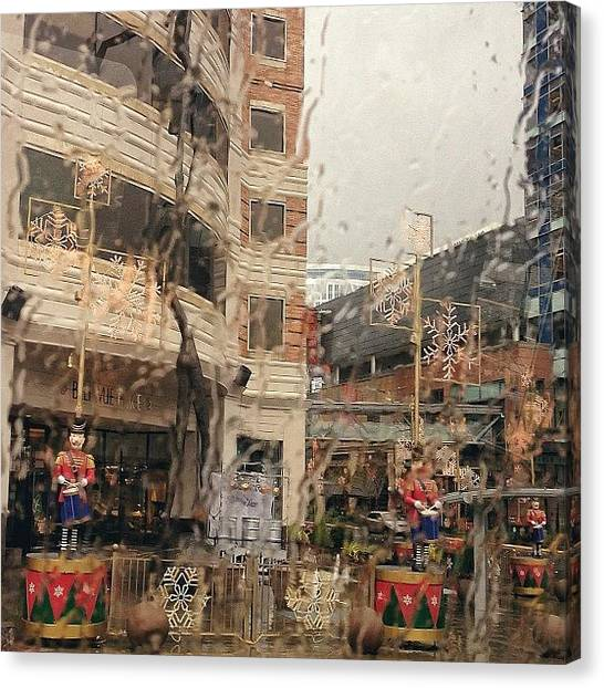 Thanksgiving Canvas Print - Happy, Safe (and Rainy) Thanksgiving by Nilesh Soni