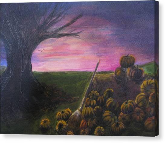Happy Samhain Canvas Print