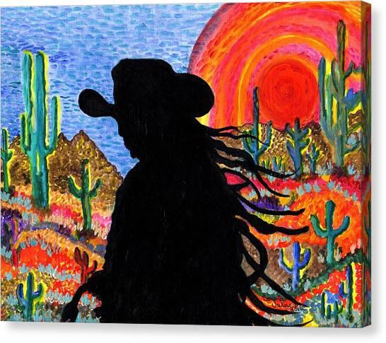 Happy Trails Canvas Print