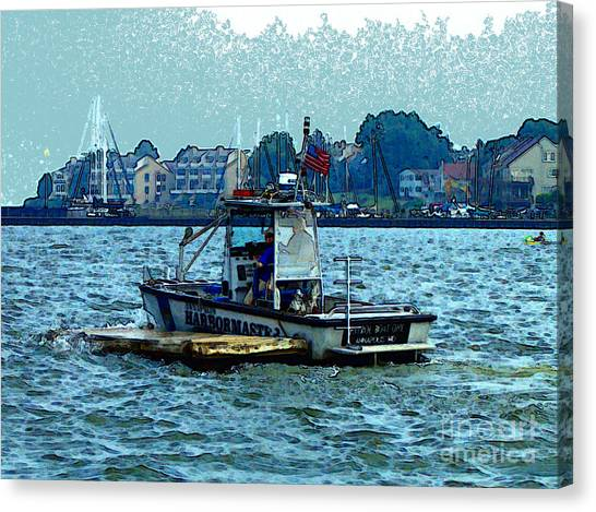 Harbormaster Canvas Print