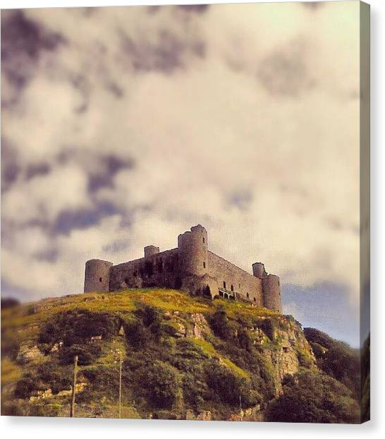 Medieval Canvas Print - #harlech #castle ... #wales by Alexandra Cook